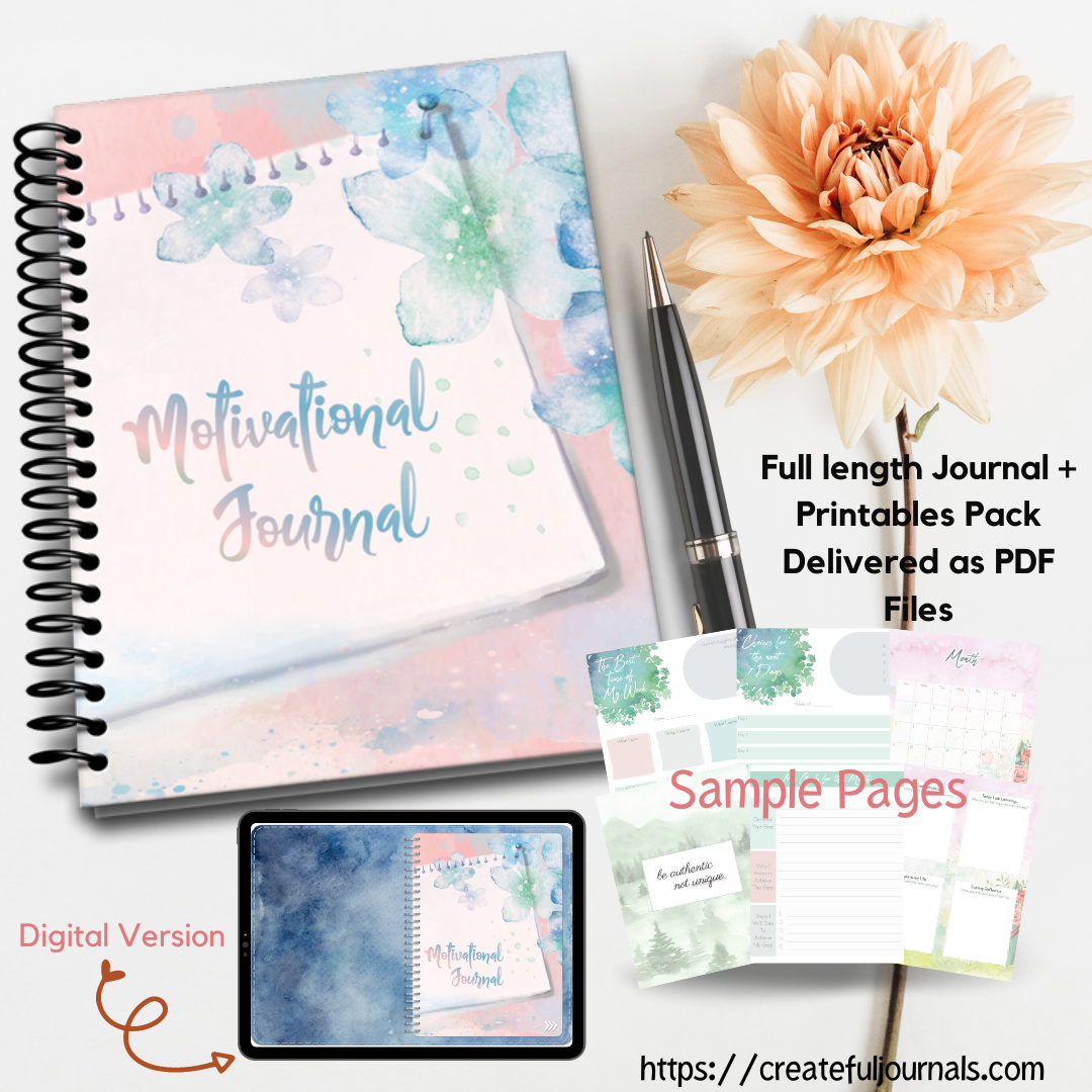 motivational journal pack