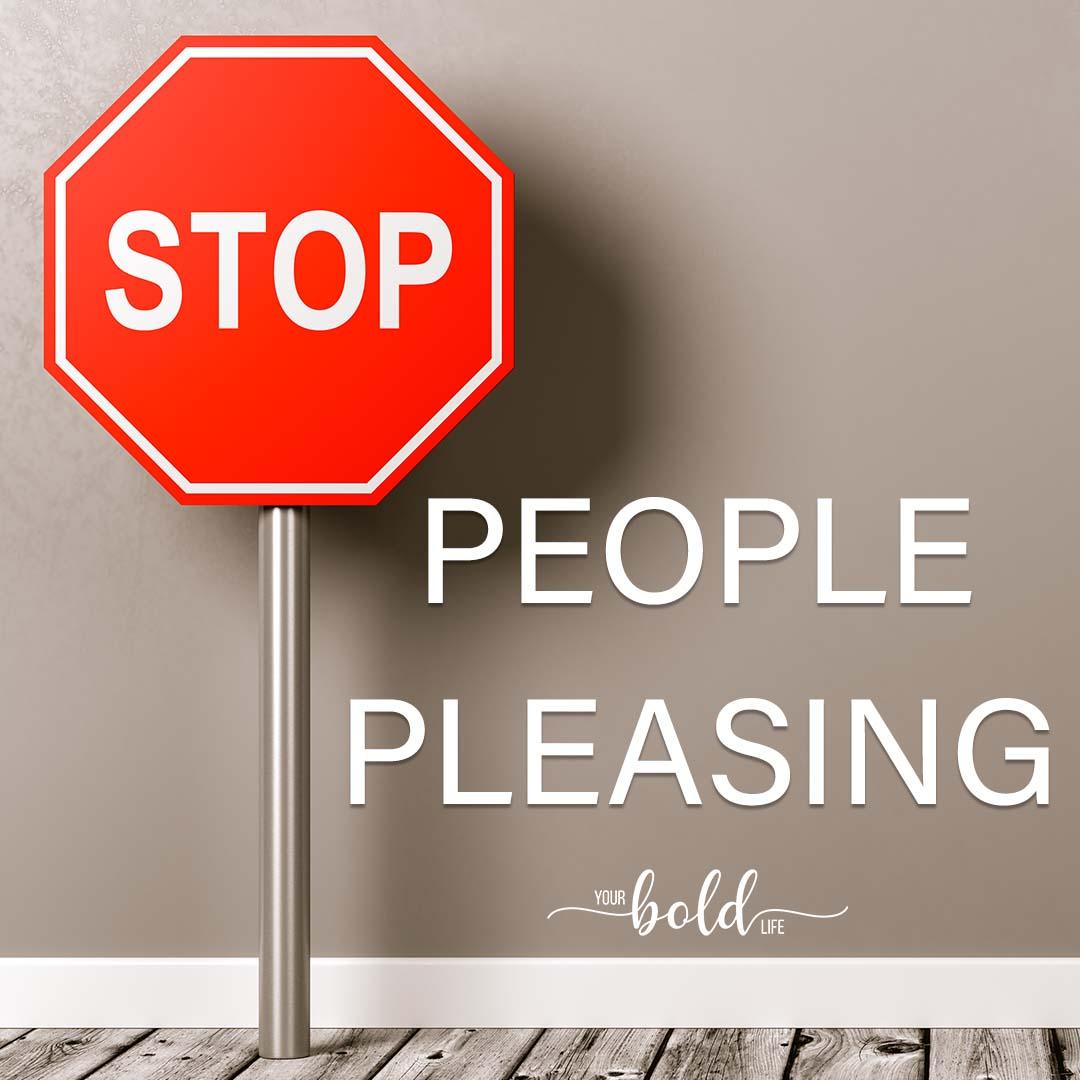stop people pleasing workshop